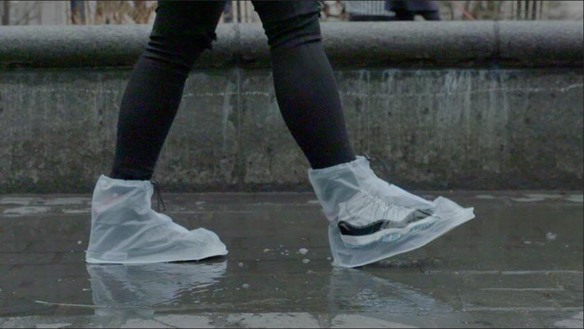 Bolsas impermeables para no mojar tus zapatos