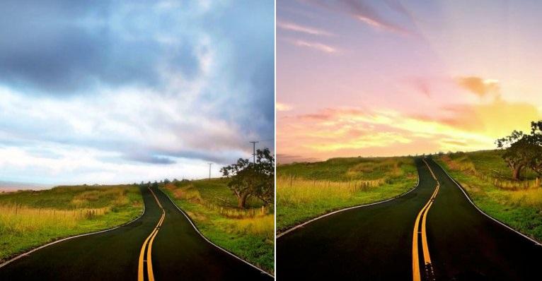 Reemplazar el cielo de una fotografía