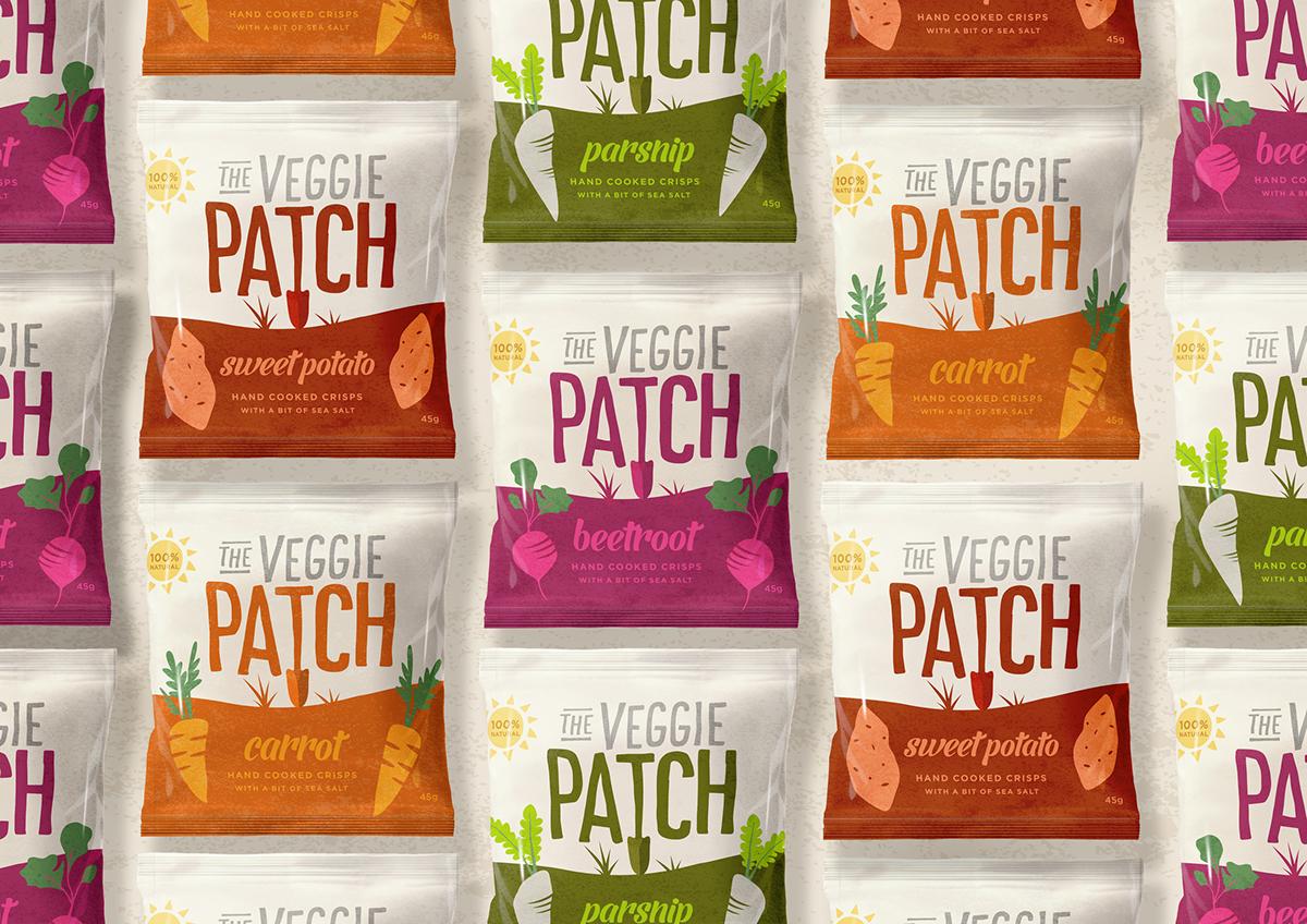 empaques inspirados en el mercado de la comida vegana