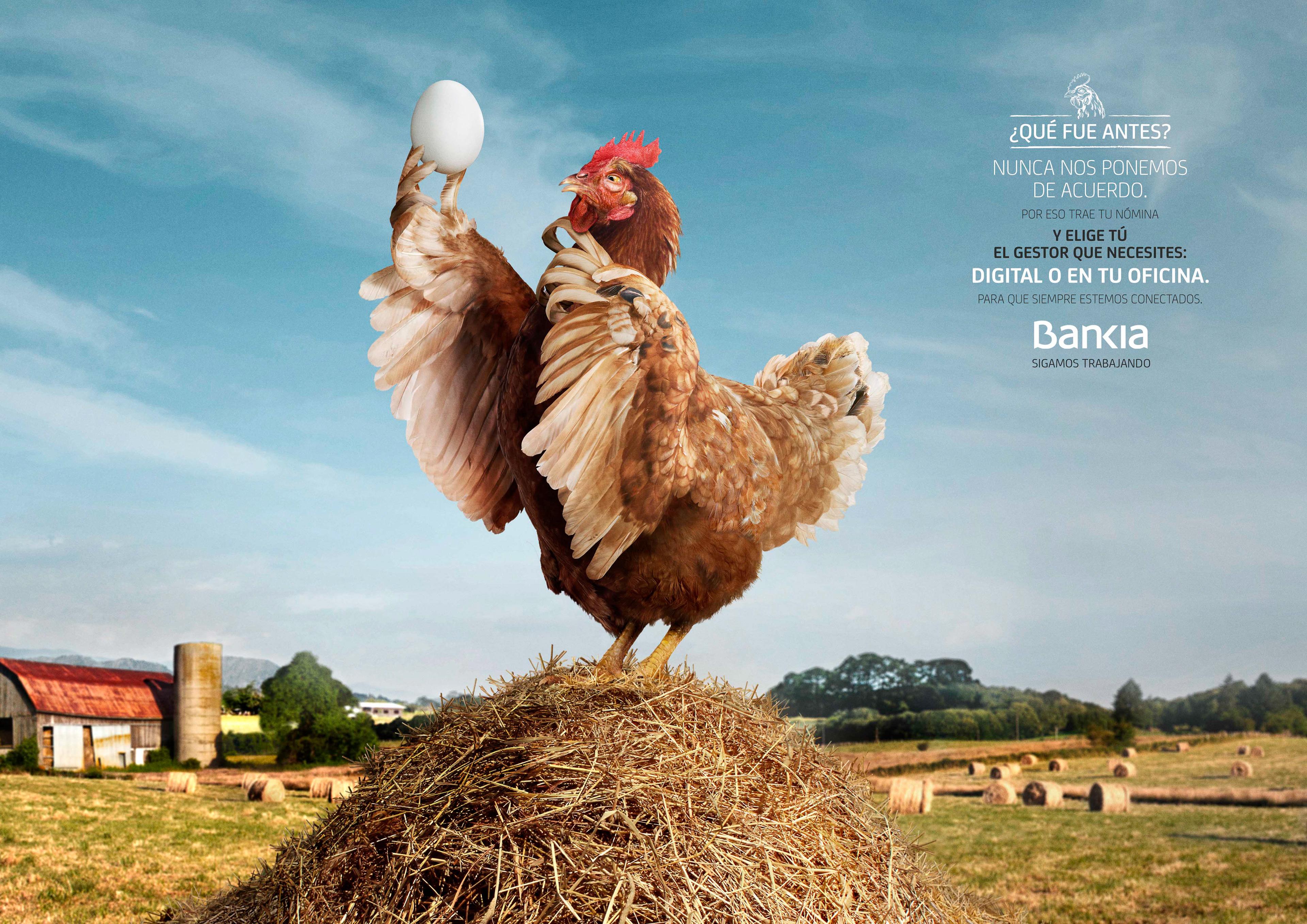 campaña creativa de un Banco inspirada en dilemas populares