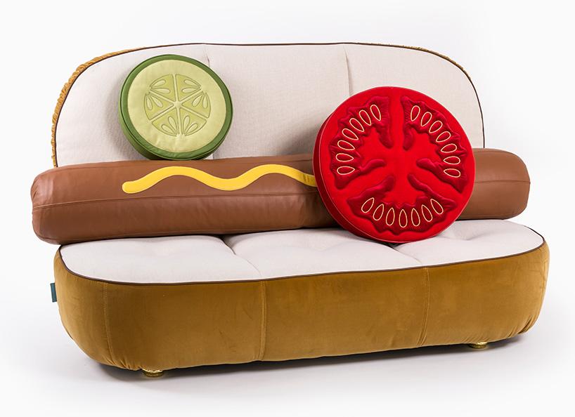 Diseños de muebles para amantes de la comida rápida