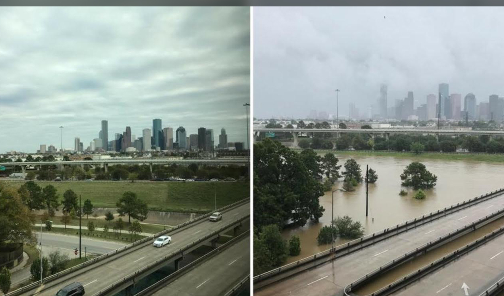 Fotos de la destrucción del huracán Harvey en Houston