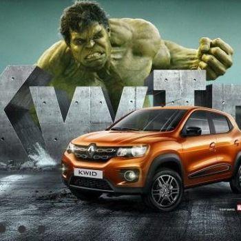 Hulk protagoniza la nueva campaña de Renault en Brasil
