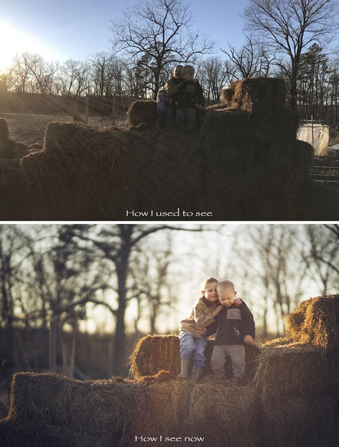 Antes y después de estudiar fotografía