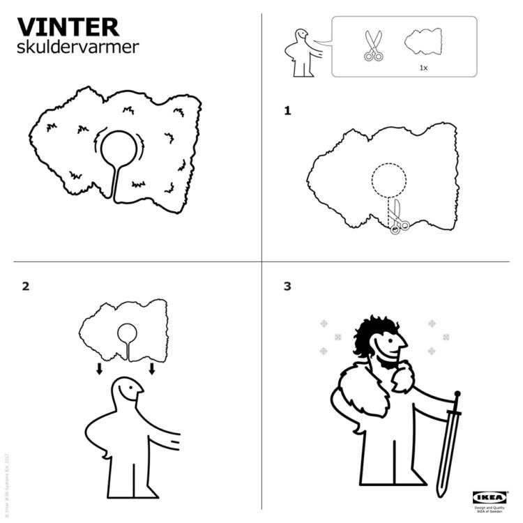 convertir tu alfombra en una capa de Game of Thrones