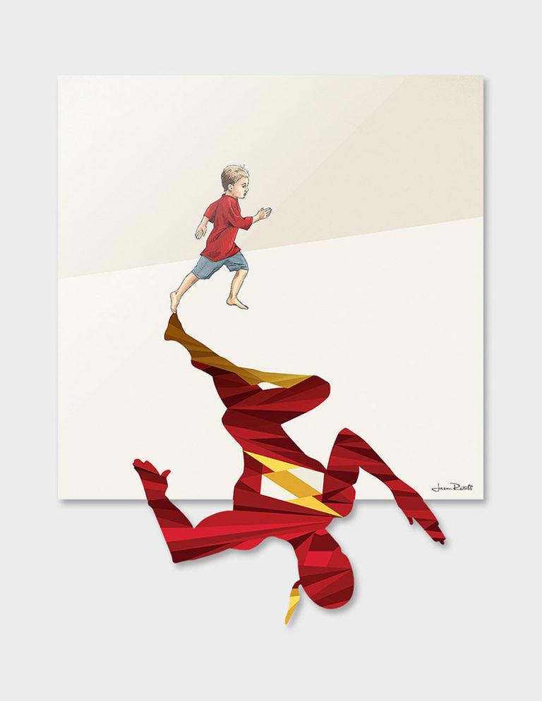 ilustraciones que exploran la imaginación infantil