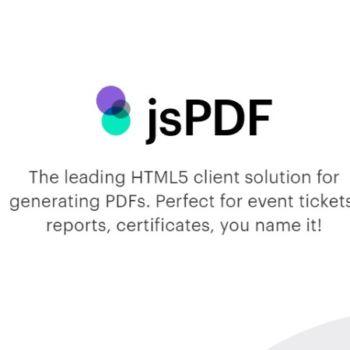 Generar archivos PDF con JavaScript
