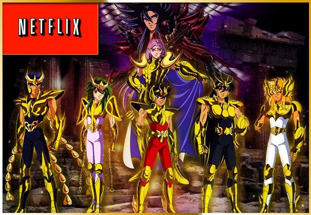 Caballeros del Zodiaco Netflix