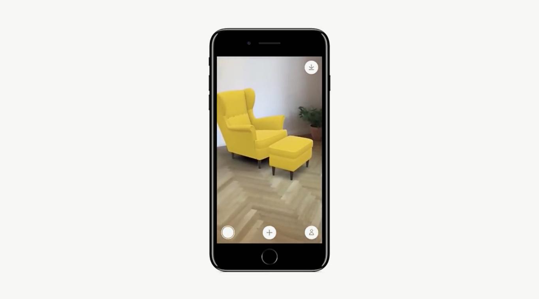 Aplicación realidad aumentada de IKEA