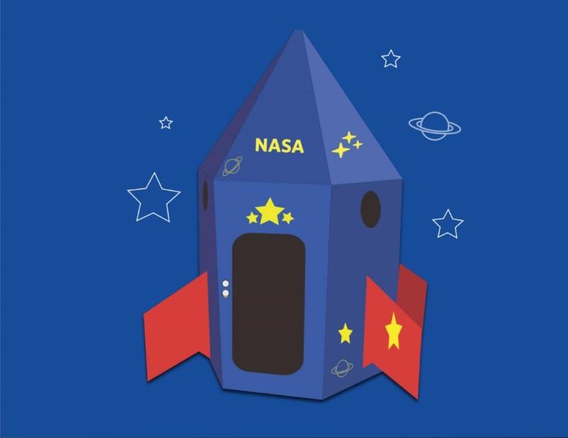 IKEA rediseña sus cajas para transformarlas en naves espaciales