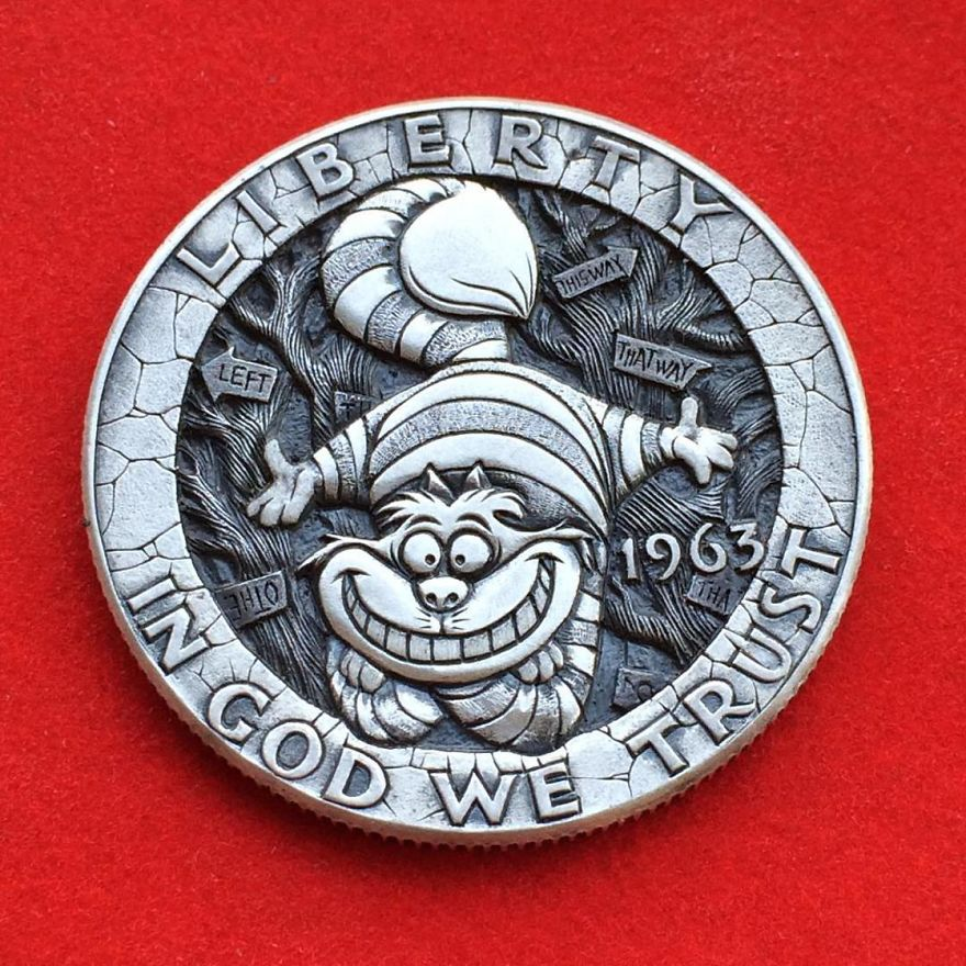 Monedas inspiradas en personajes famosos