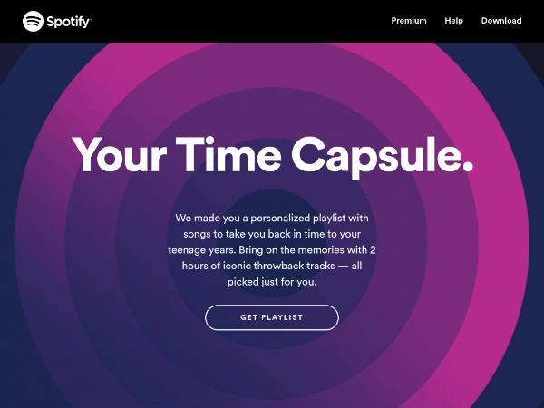 Your Capsule Time de Spotify