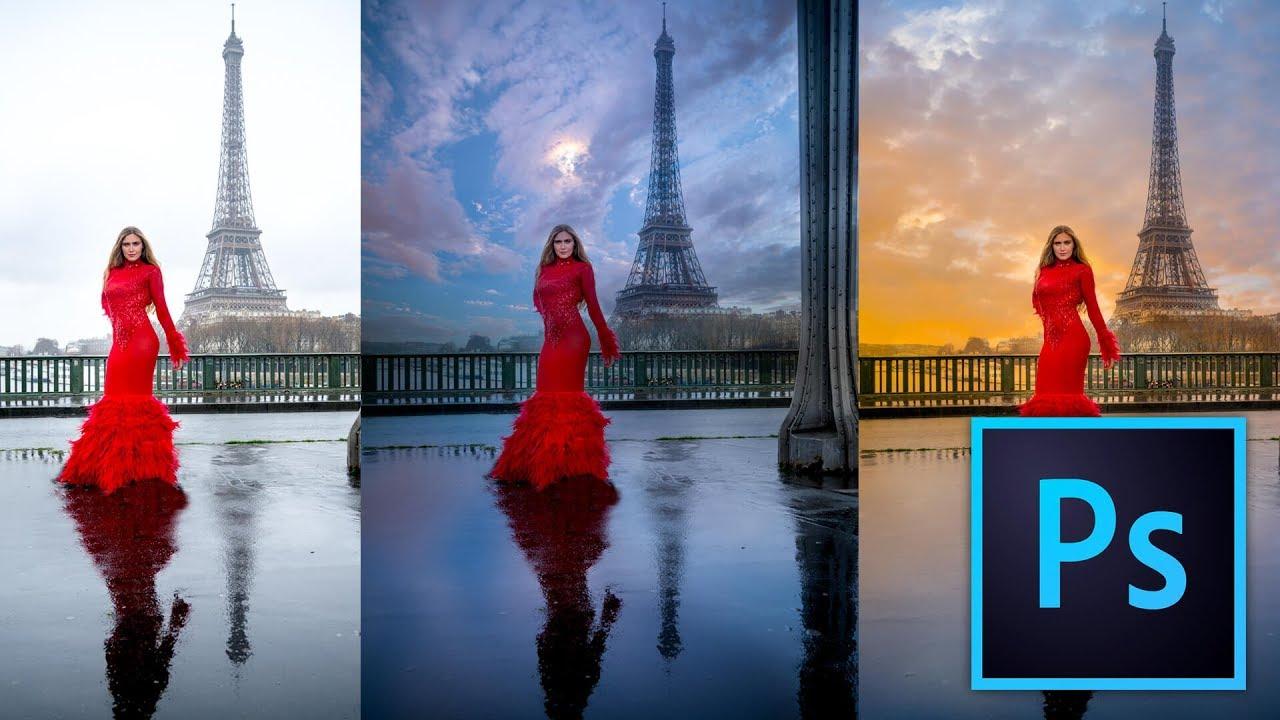 Cambiar el cielo de una foto con photoshop