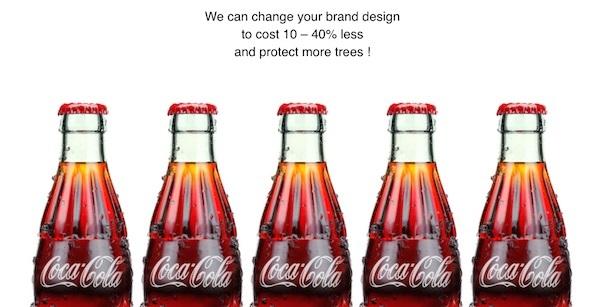 logotipos diseñados ecológicamente
