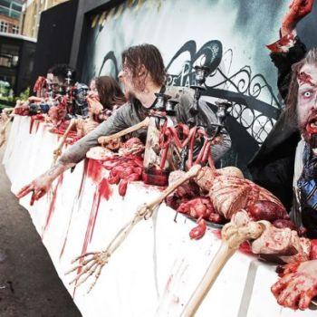 Publicidad con Zombies 'reales' para promocionar The Walking Dead