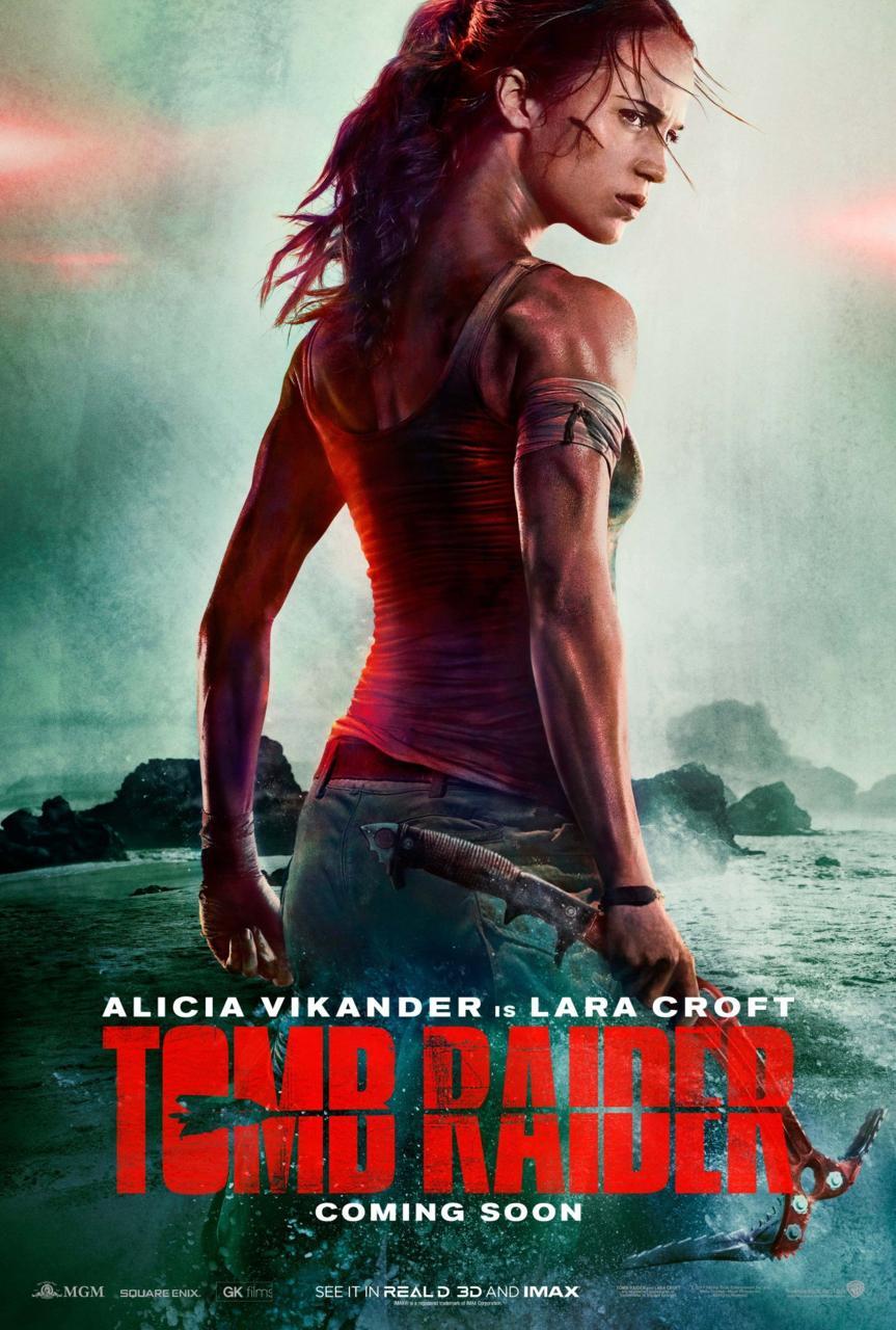 adelanto y póster de Tomb Raider