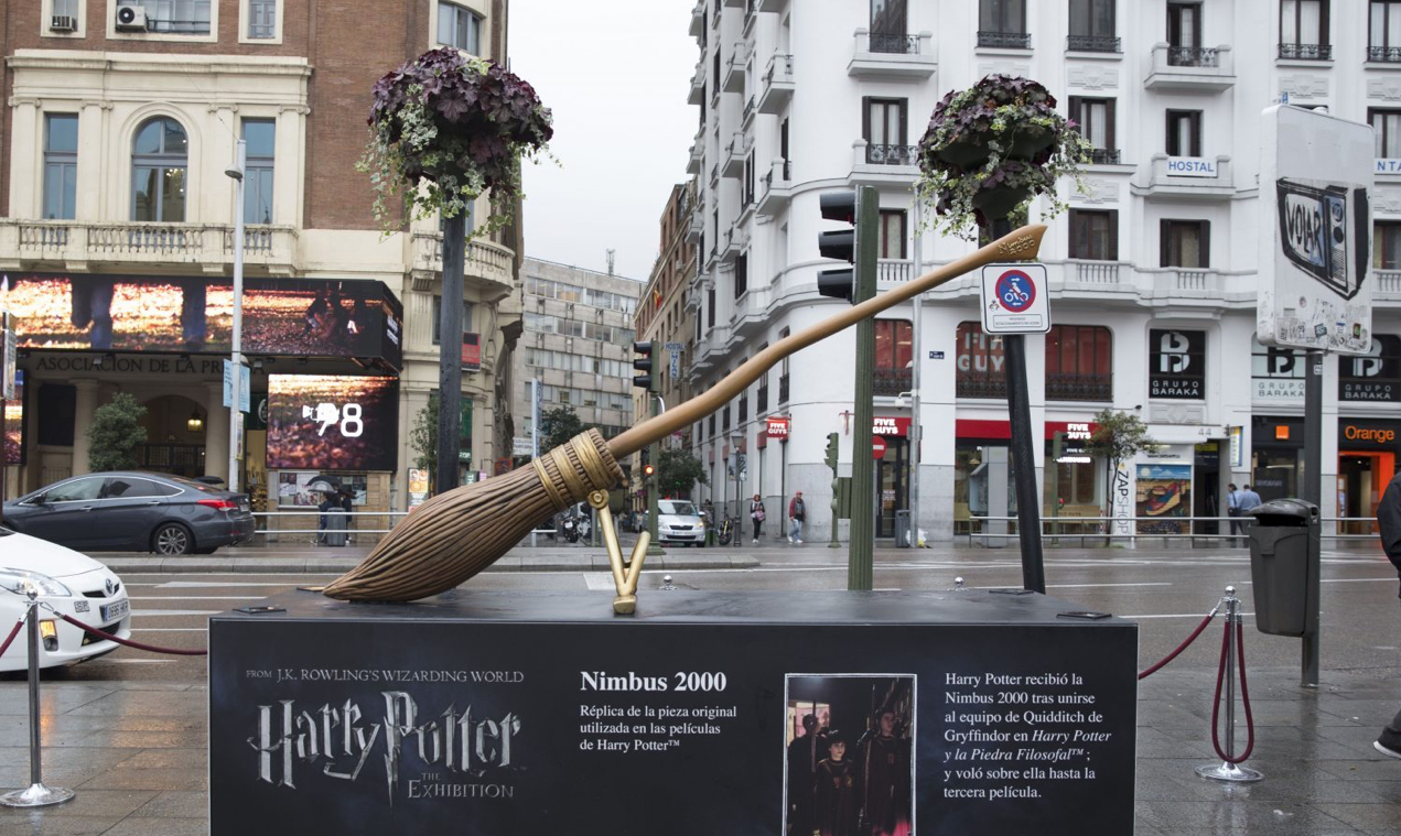 Esculturas gigantes de Harry Potter