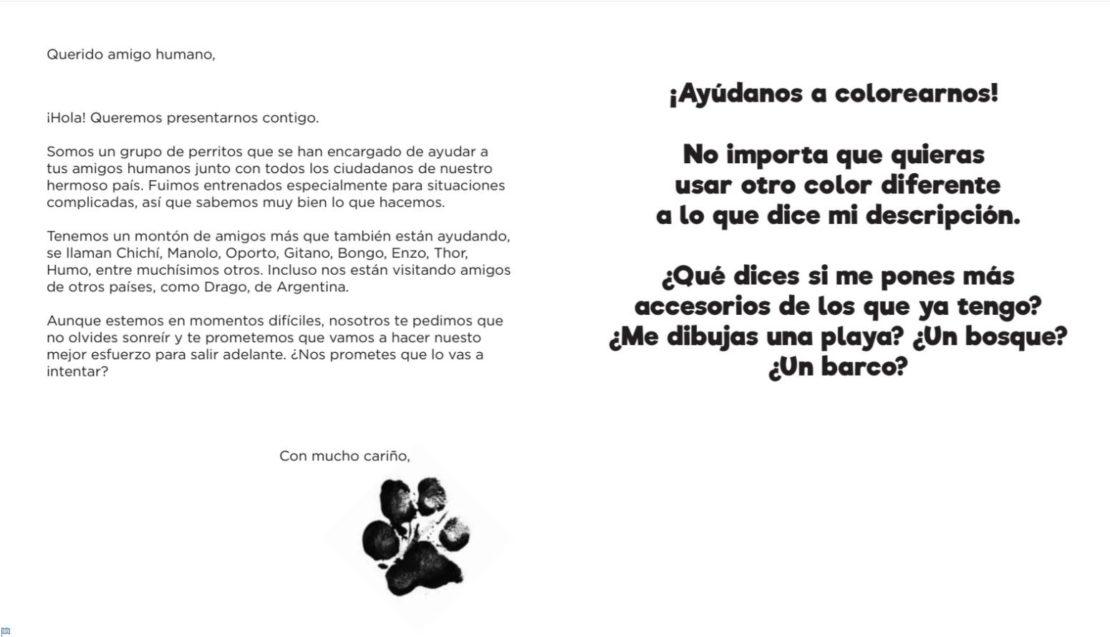 Libro para colorear basado en Frida y los héroes can... - Frogx Three