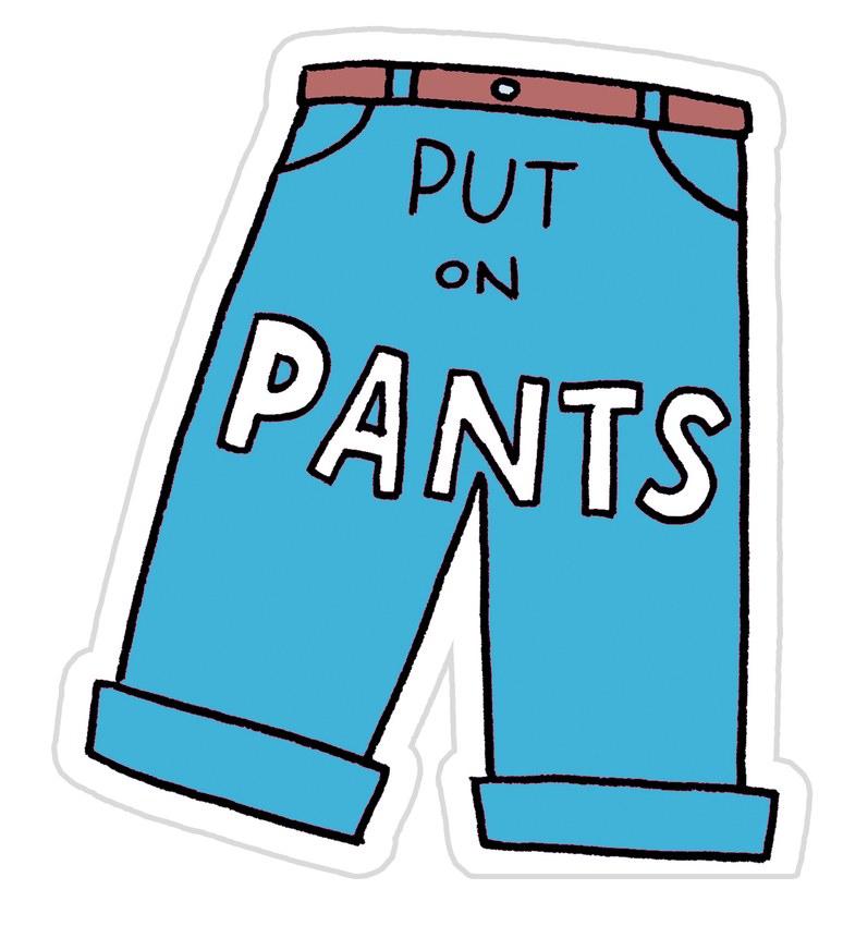 Usar pantalones