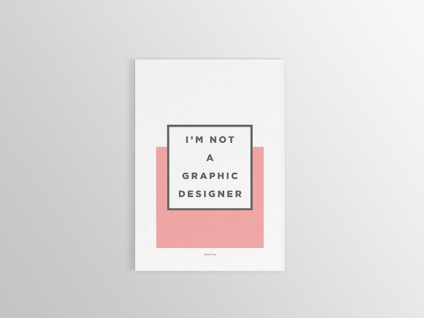 Portafolio minimalista de diseño
