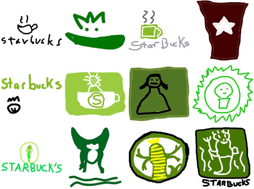 Logos famosos dibujados de memoria