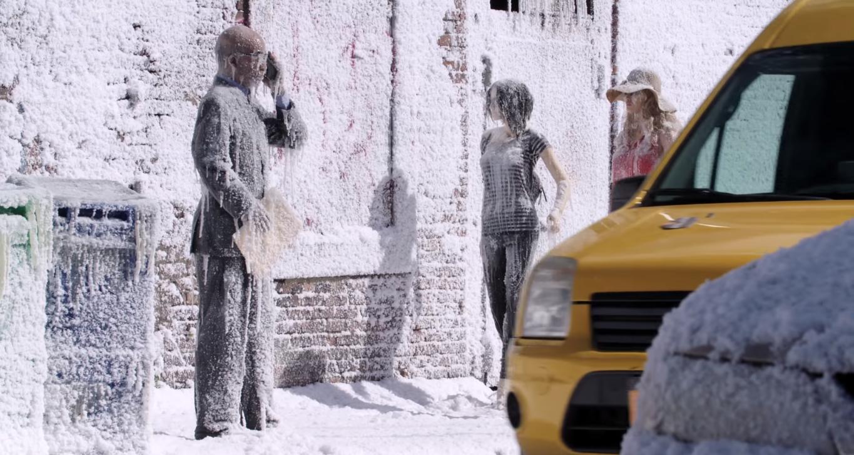 Warner Bros 'congela' una calle