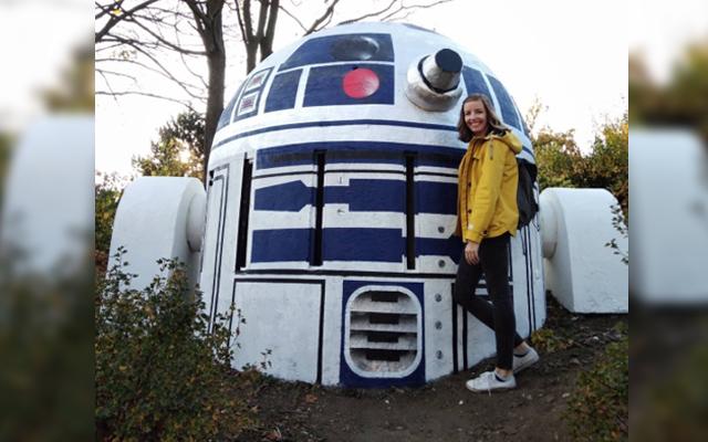 antiguo bunker en R2-D2