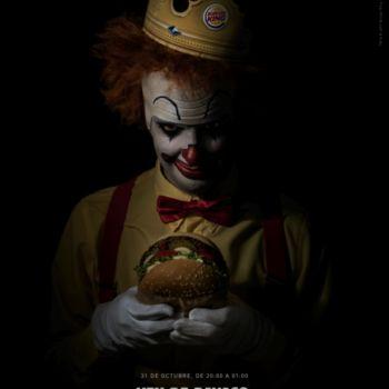 Burger King regala whoppers a quien se vista de payaso