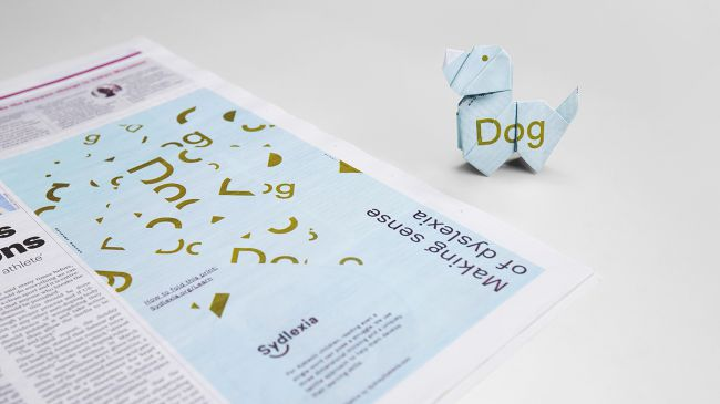 Carteles tipográficos dislexia