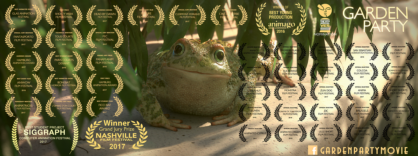 Animación protagonizada por ranas