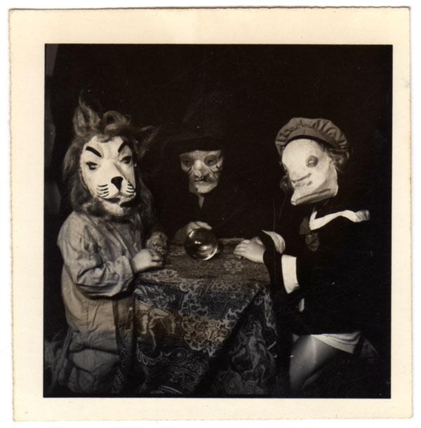 Fotografías de halloween hace 142 años