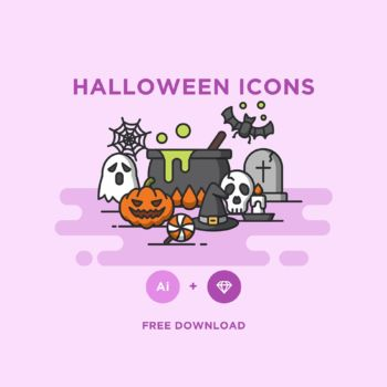 Iconos de halloween para descargar gratis