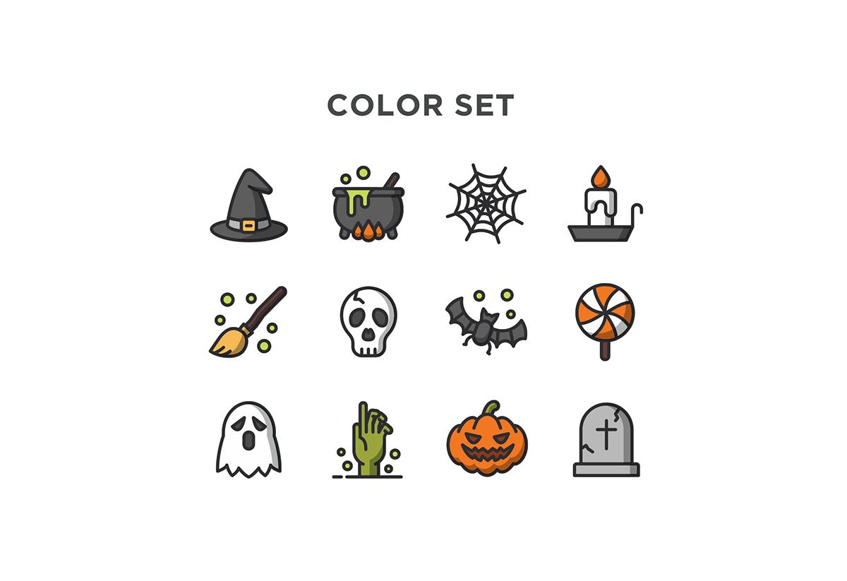 Iconos de halloween para descargar gratis - Frogx Three