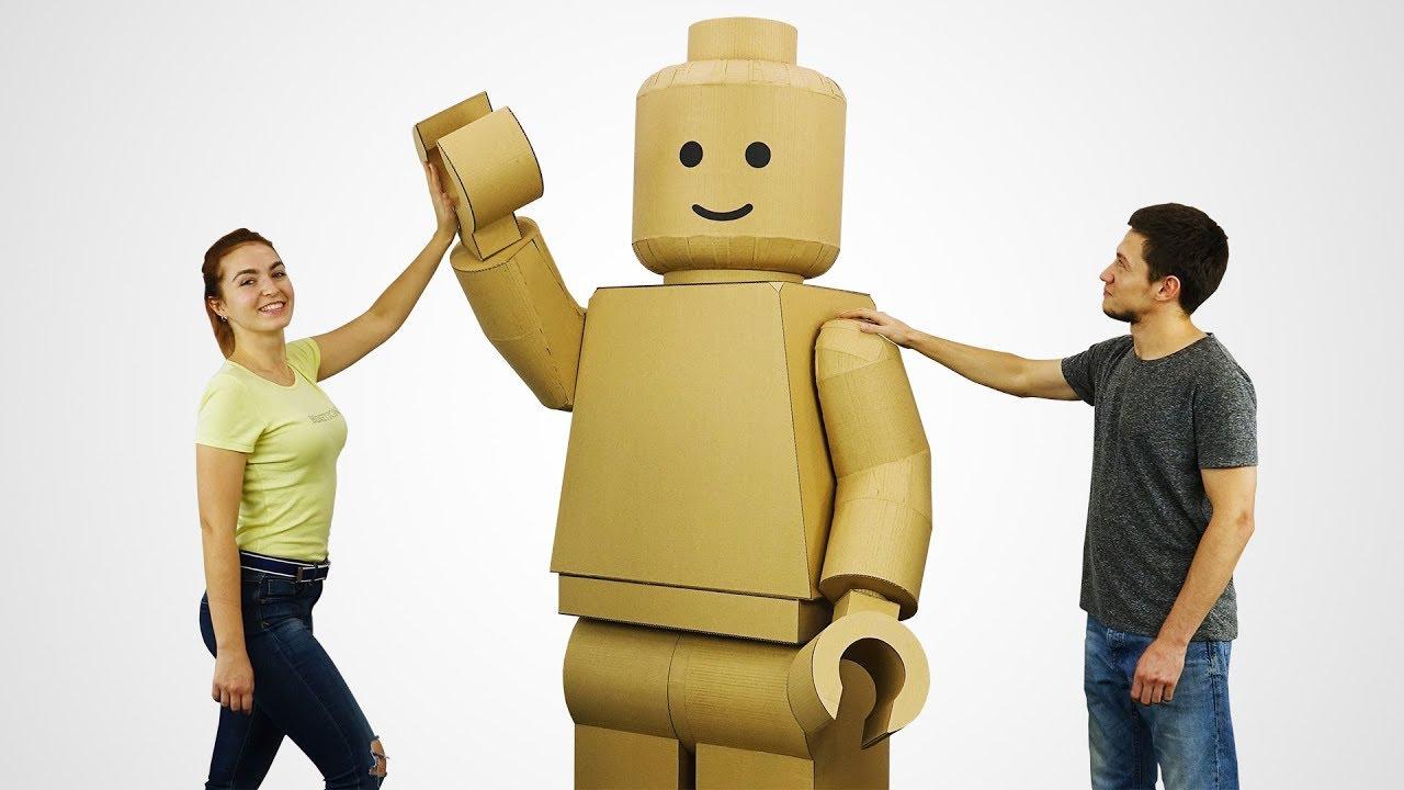 Como hacer un disfraz gigante de Lego