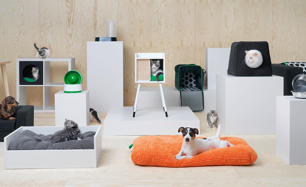 diseños de muebles para mascotas