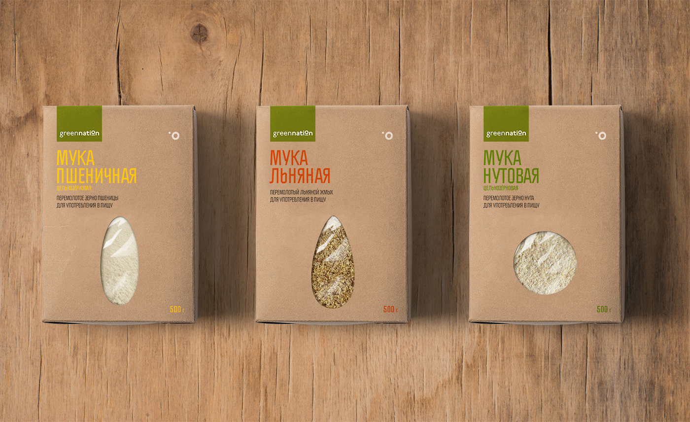 Packaging para productos saludables