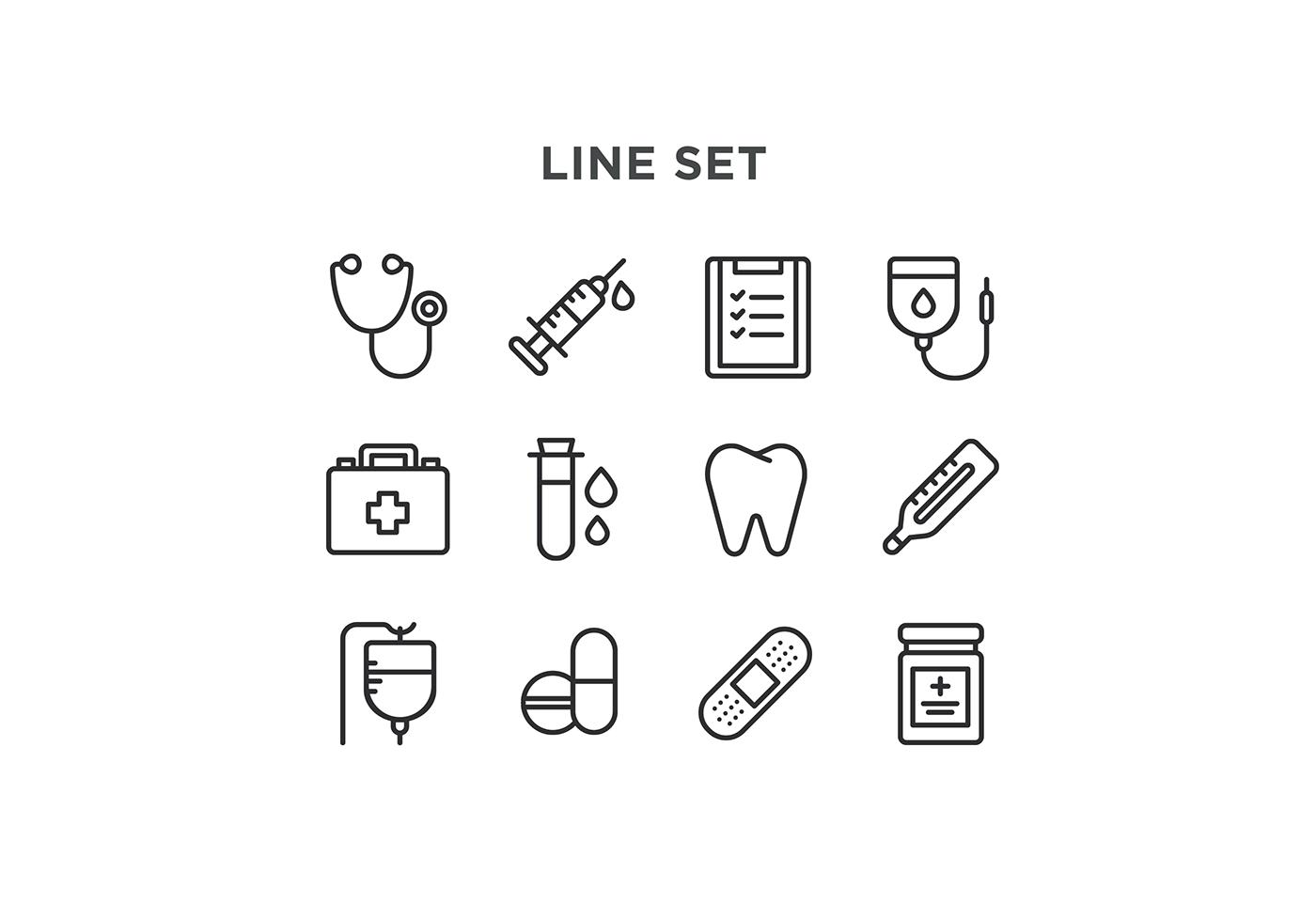 Iconos médicos para descargar gratis