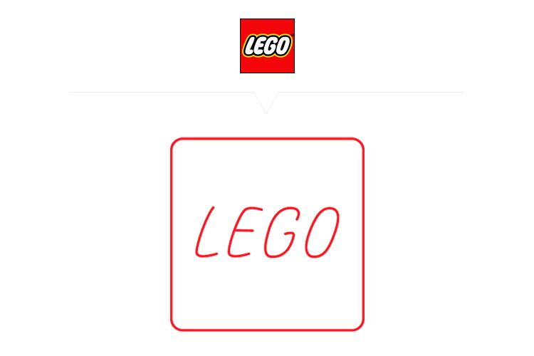 Logos famosos en versiones ultra minimalistas
