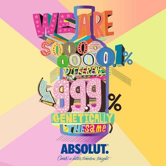 campaña de Absolut por la creatividad