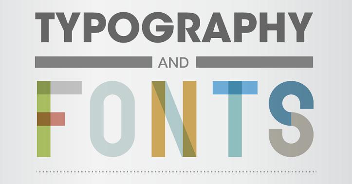 Una guía de diseño sobre tipografía y fuentes