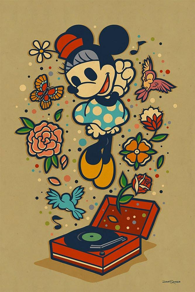 Ilustraciones Vintage De Disney Por Dave Quiggle Frogx Three