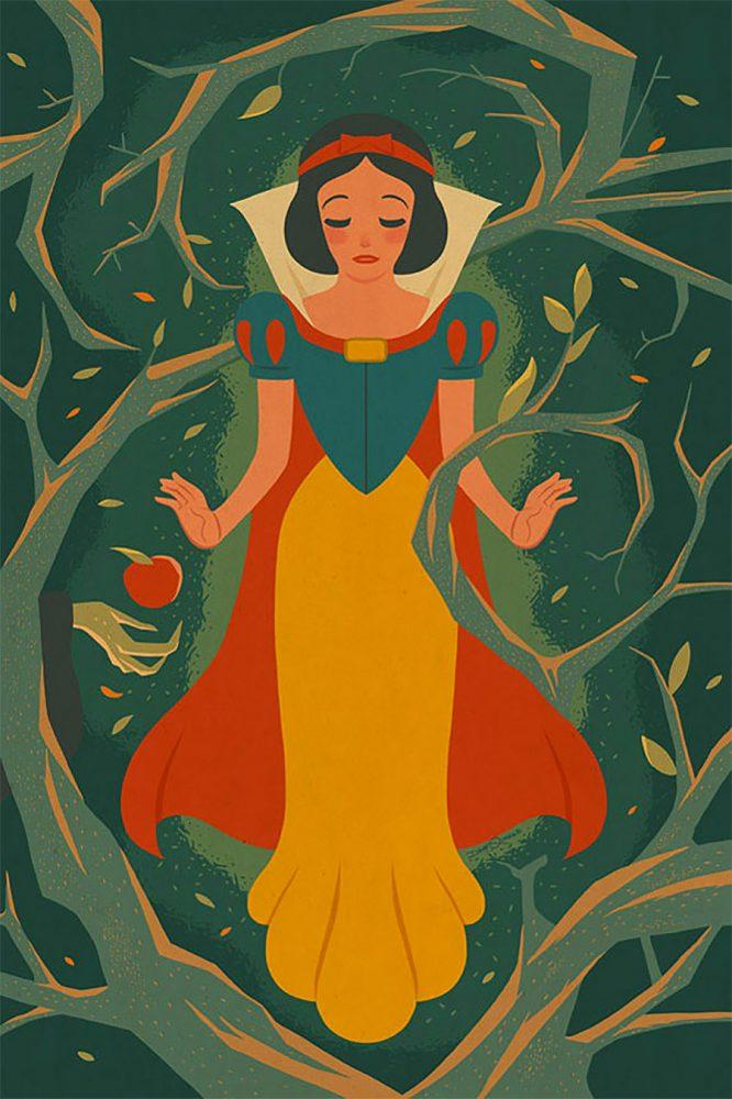 Ilustraciones vintage de Disney