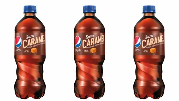Pepsi lanza variante sabor caramelo salado