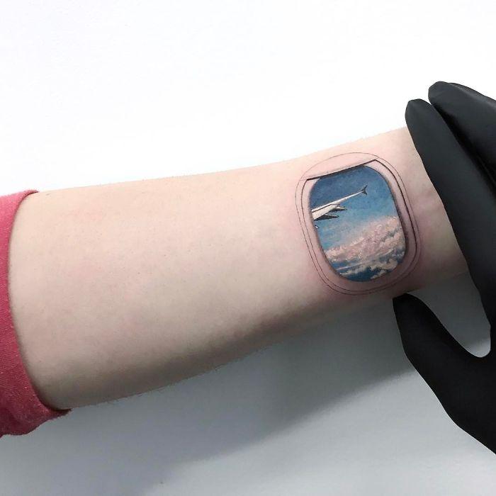 Tatuajes para amantes de los viajes