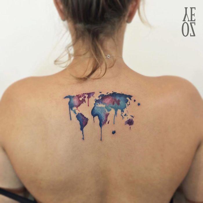 Diseños De Tatuajes Para Amantes De Los Viajes