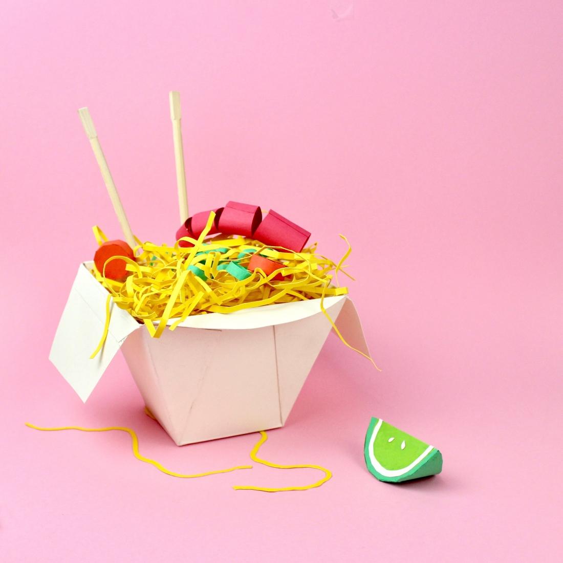 Paper Food por Samuel Shumway