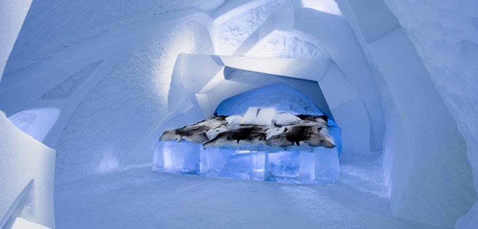 Hotel de hielo inaugurado en Suecia