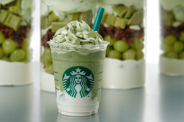 Green Tea Cheese Frappuccino Starbucks