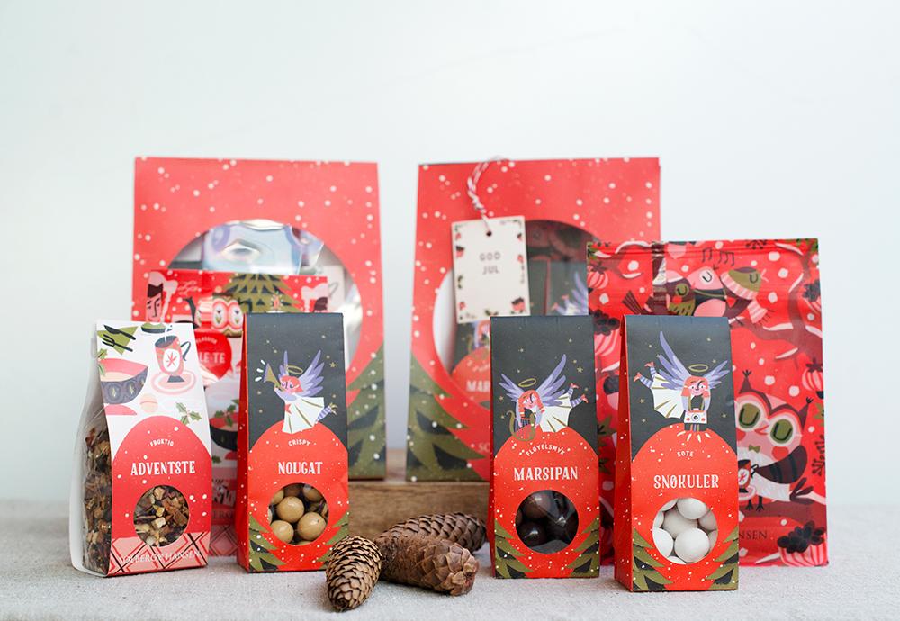 Ejemplos de packaging navideño