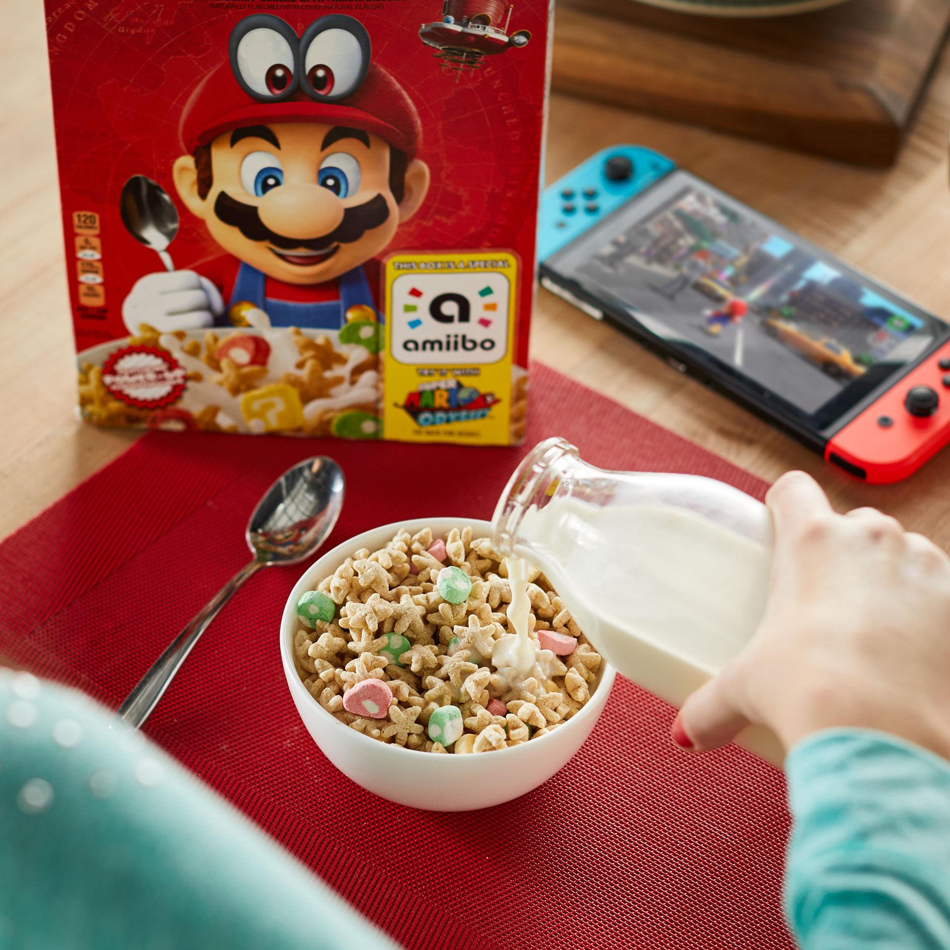 cereal inspirado en Mario Bros